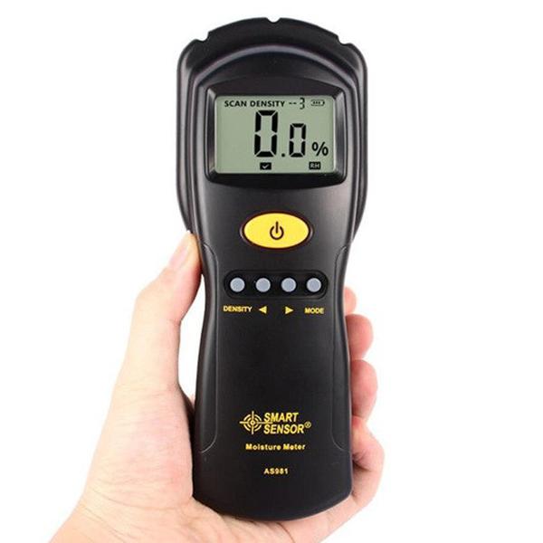 เครื่องวัดความชื้นไม้ Wood Moisture Meter รุ่น AS981