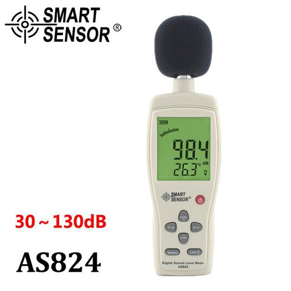 เครื่องมือวัดเสียง AS824