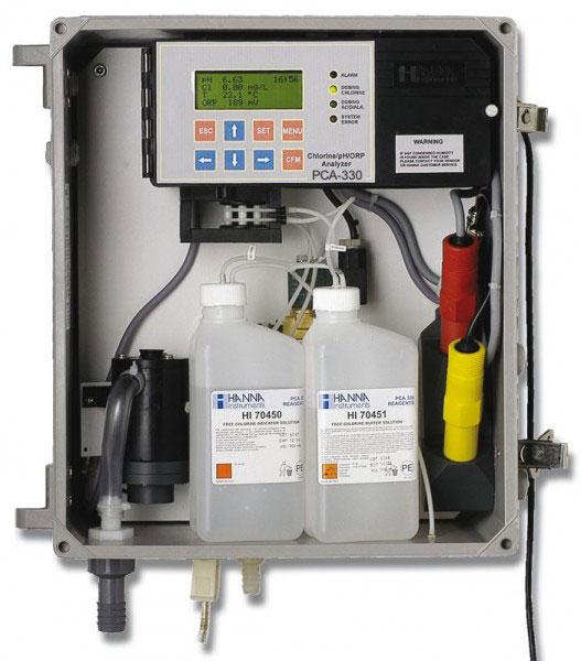 pH ORP Chlorine Controller PCA330
