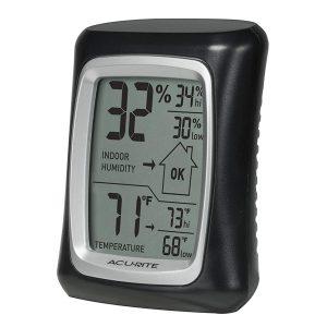 เครื่องวัดอุณหภูมิและความชื้น AcuRite 00325WDC