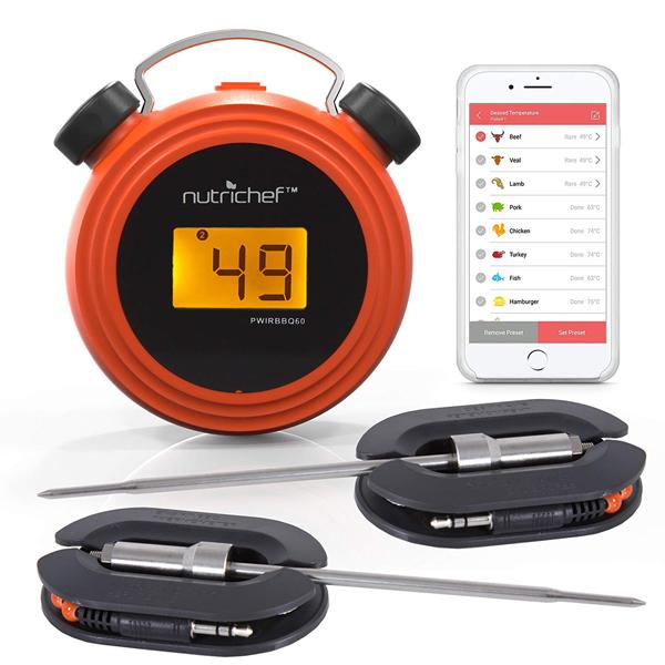 เครื่องวัดอุณหภูมิ NutriChef PWIRBBQ60